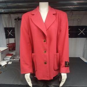 NWTWool/Cashmere Blend Vintage Harve Benard Coat